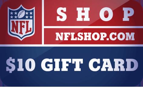 $10 NFLShop.com Digital <br /> Gift Card(s)