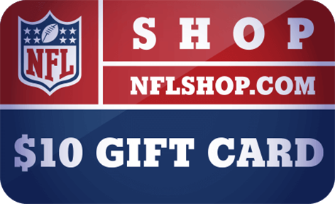 $10 NFLShop.com Digital <br /> Gift Card(s)