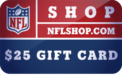 $25 NFLShop.com Digital <br /> Gift Card(s)
