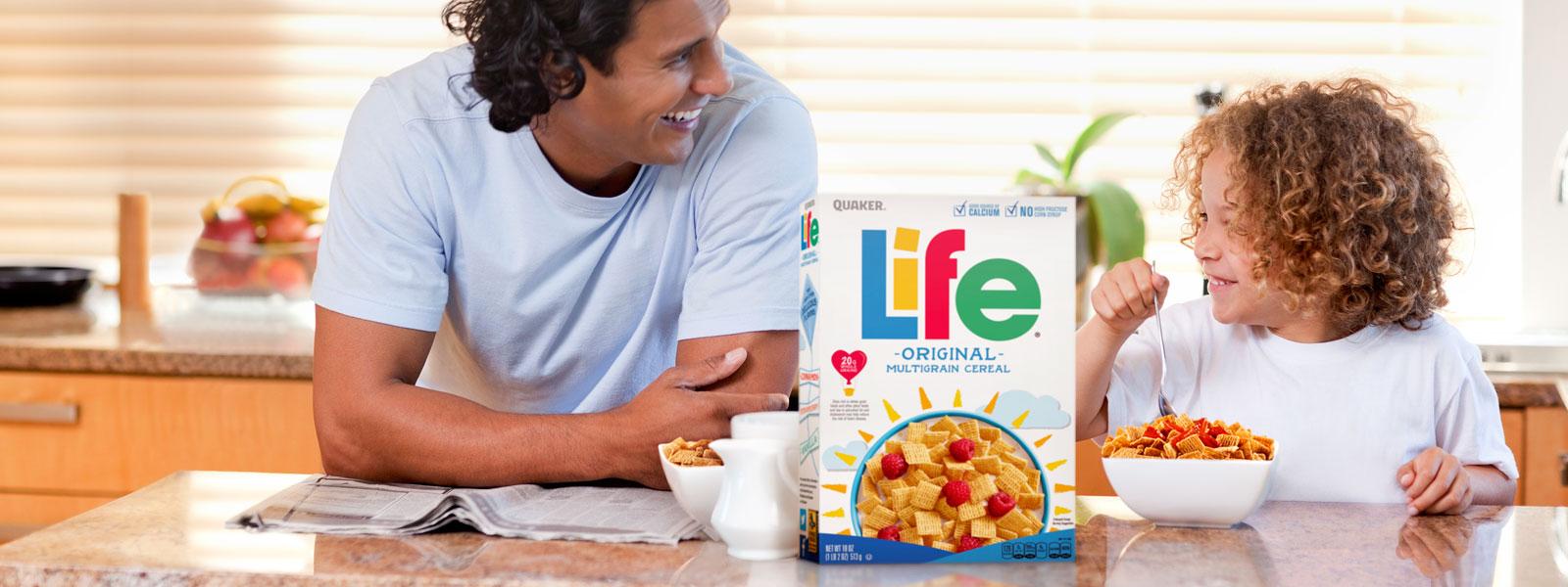 Life Cereal Header